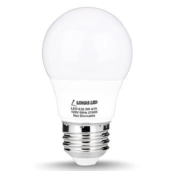 Lohas a15 led bulb 5w40w equivalent medium base e26 led light lohas a15 led bulb 5w40w equivalent medium base e26 led light aloadofball Images