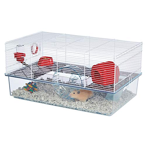 MidWest Homes for Pets Critterville Brisby Large Hamster Cage | Includes All Accessories