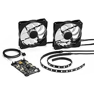 Sharkoon RGB Controlador de led Set pacel Ight RGB Set