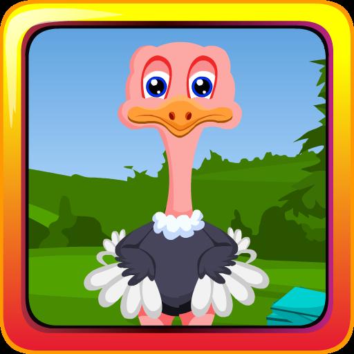 Cross Ostrich (Escape the Julio Ostrich)