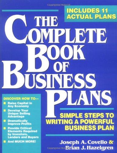Popular Business Plan Books