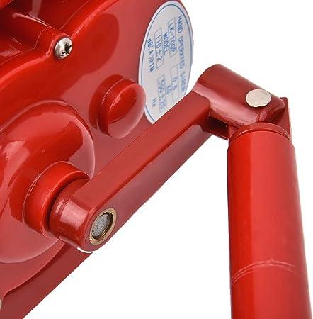 Carcasa de Alarma de manivela ruidosa port/átil Alarma de Ataque a/éreo operada manualmente manivela ruidosa operada manualmente T osuny Sirena de Ataque a/éreo de Mano