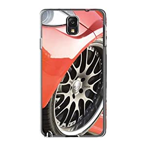 [vNT3187fVeO]premium Phone Case For Galaxy Note3/ Hamann Bmw M6 Widebody Front Wheel Tpu Case Cover