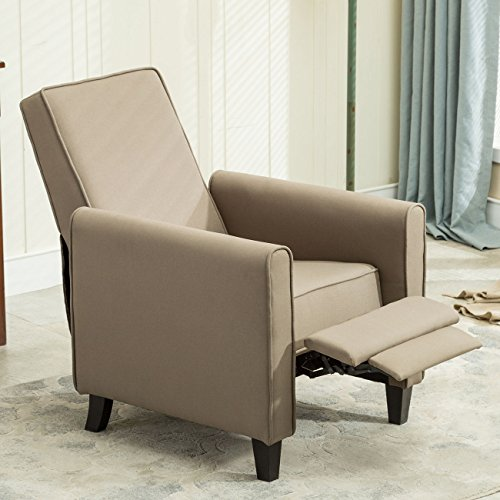 US Stock Contemporary Living Room Furniture Modern Design Fabric Recliner Club Chair - San Outlet Mall Antonio