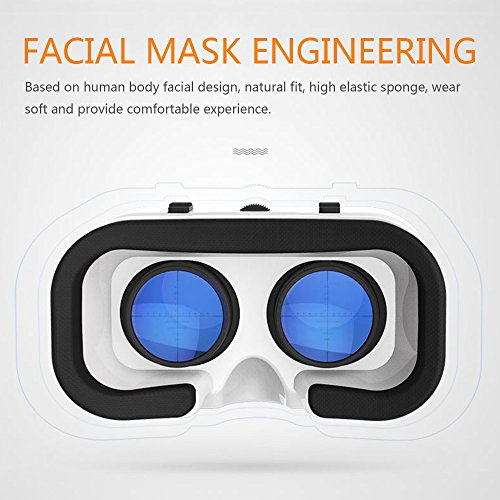 3061c1533fb7 VR Headset 3D VR Glasses Lightweight Virtual Reality Headset with Adjustable  Pupil and Focus Distance for
