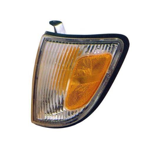 1997-2000 Toyota Tacoma 2WD Truck (excluding PreRunner & Stepside Models) Corner Park Lamp Turn Signal Marker Light Left Driver Side (1997 97 1998 98 1999 99 2000 00) (Prerunner Parts Truck)