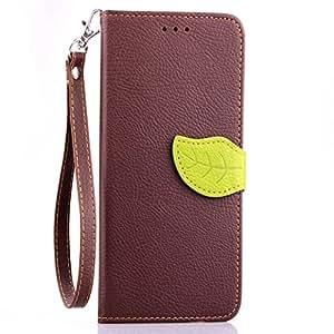 AllDo Funda de PU Cuero para HTC Desire 820 Carcasa Protectora Funda Cartera Flip Wallet Case Cover Bumper Carcasa Blanda Caja Suave Flexible Caso ...