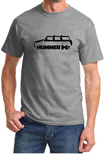 Hummer H2 Classic Outline Design Tshirt