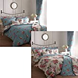 Camberley' King Duvet Cover Set in Multi, Includes: 1x King Duvet Cover and 2x Pillowcases by Dreams 'n' Drapes