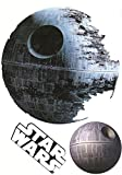 "Death Star Mini Fathead Graphic Star Wars Logo Set Official Licensed Vinyl Wall Graphics 7"" inch"