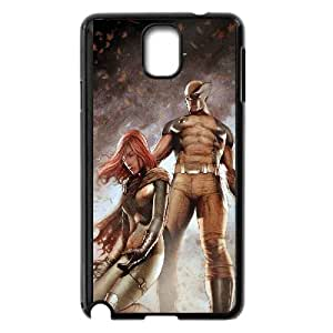 Hope Summers And Wolverine Comic Samsung Galaxy Note 3 Cell Phone Case Black yyfabb-121449