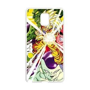 Cartoon Anime Cute White Phone Case for Samsung Galaxy Note4
