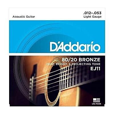D'Addario Bronze Acoustic Guitar Strings