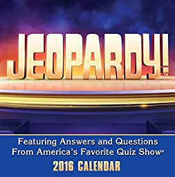 Jeopardy! Day-to-Day - 2016 Boxed Calendar 5 x 5in