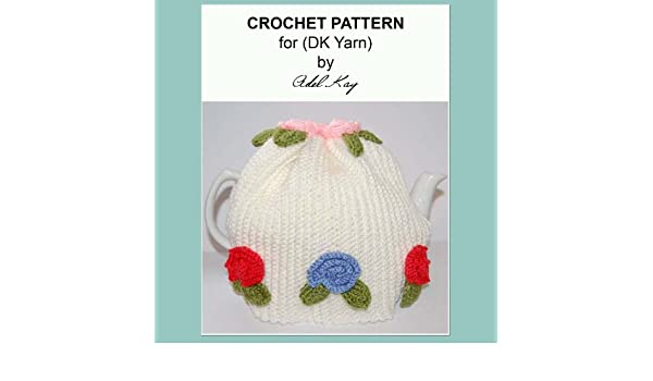Almha Vintage Roses Style Tea Cosy Cozy DK Yarn Crochet Pattern