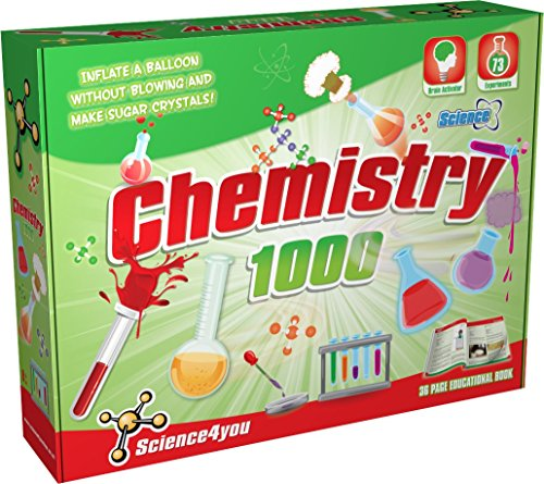 Science4you Chemistry 1000 Kit Science Experiment