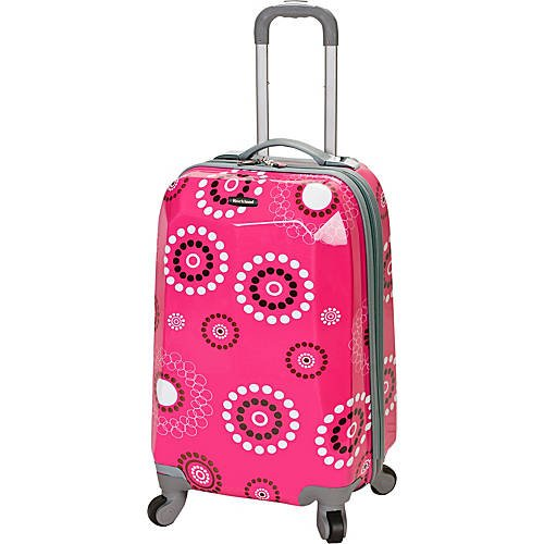 20'' Vision Polycarbonate Carry-On Pink Pearl by Tabletop King