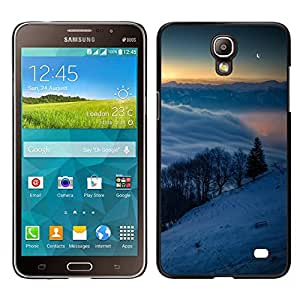 LECELL--Funda protectora / Cubierta / Piel For Samsung Galaxy Mega 2 -- Snowy Mountains --