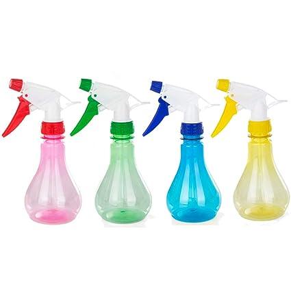 Katech 4 piezas de multifunction Spray Botellas 250 ml botella de plástico pulverizador de jardín riego