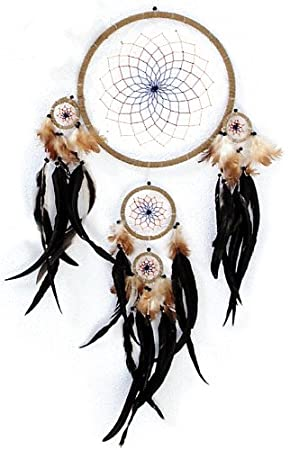 Giant Real Feather Dream Catcher Dreamcatcher 40 CM Amazoncouk Best Is Dream Catcher Real