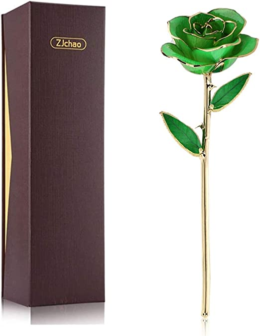 Amazon Com Zjchao 24k Green Rose Gift For Her Mother S Day Love Forever Real Gold Plated Eternity Rose Flower Best Present For Wife Mom Girlfriend Anniversary Wedding Birthday Graduation Green Home Kitchen,Free Kitchen Design Software Online Australia