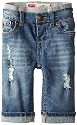 Levi\'s Baby Boys\' Murphy Pull-On Jeans,Vintage Sky, 6-9 Months