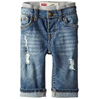 Levi's Baby Boys' Murphy Pull-On Jeans,Vintage Sky, 6-9 Months