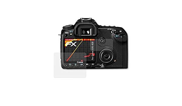 atFoliX Protector Película Compatible con Canon EOS 40D Lámina ...