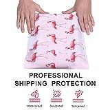 #4 10x13 Pink Flamingo Designer Poly Mailers
