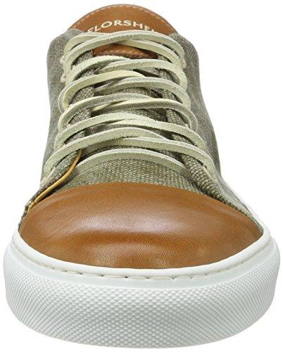 Florsheim Rocket, Sneaker Basse Uomo Beige (Taupe Combo)