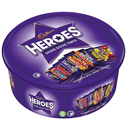 Cadbury Heroes Chocolates Tub 600g (Chocolate Canada)