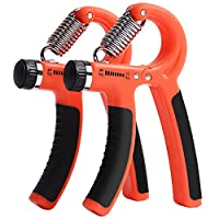 Unisex Hand Strength Trainer Adjustable Hand Grip Strengthener with Resistant Range from 10-40kg (22-88 LBs) for Kids and Adults,Women and Men Hand Rehabilitation Exercising