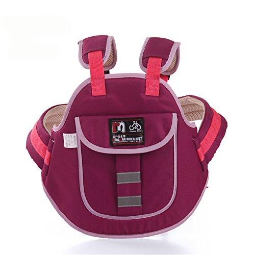 JFJL Children Motorcycle Safety Belt Children Motorcycle Safety Strap Seats Belt Electric Vehicle Safety Harness,Purple: Amazon.co.uk: Kitchen & Home
