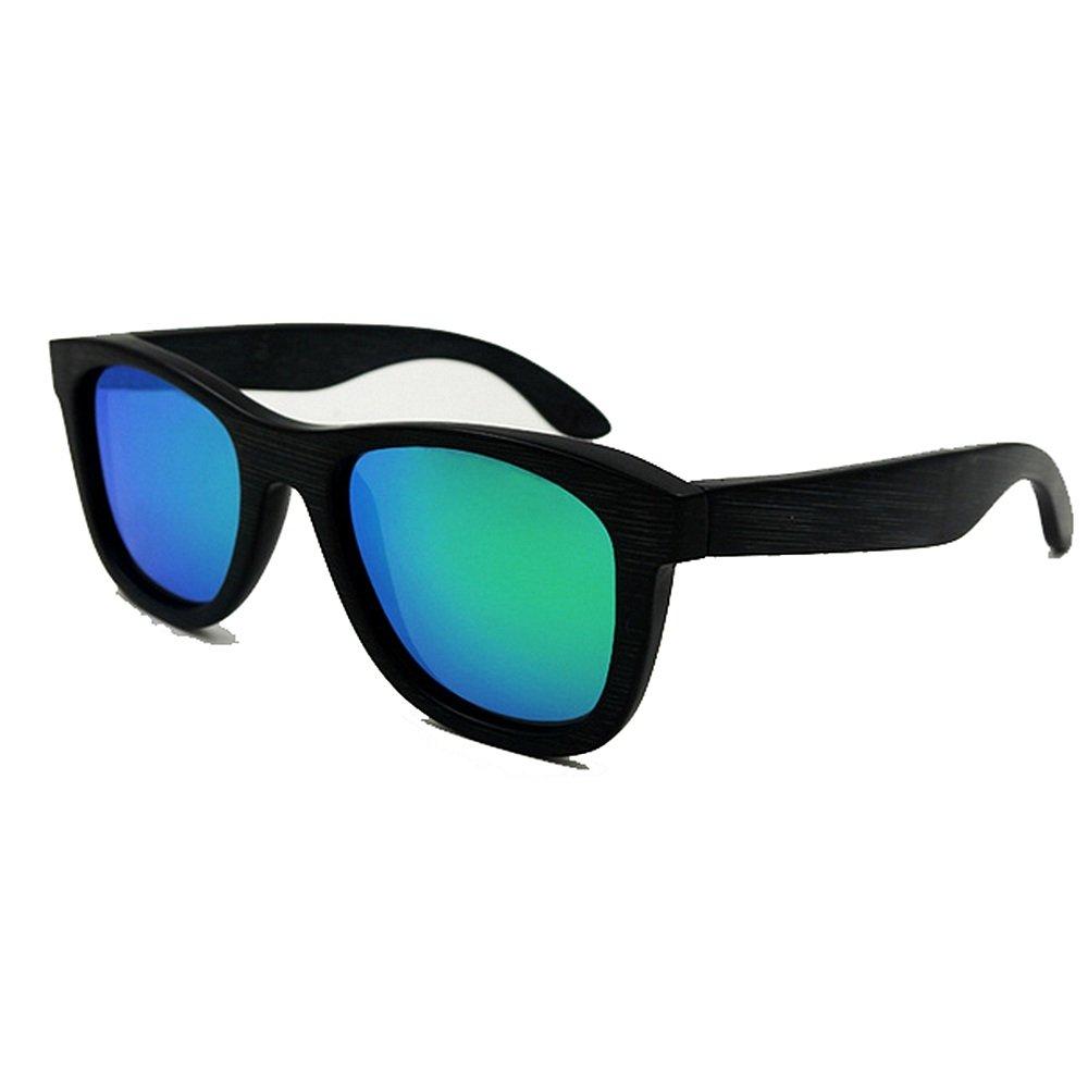 Ju-sheng Gafas de Sol ecológicas con Marco Completo Vintage ...