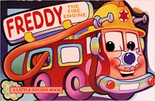 Trevor the Steam Train; Sally the Sea Ferry; Harriet the Helicopter; Freddy the Fire Engine Little Engine Shaped Board Books