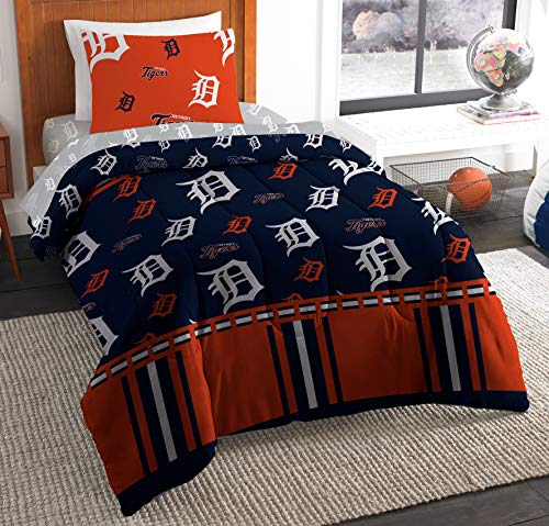 - The Northwest Company MLB Detroit Tigers Twin Bed in a Bag Complete Bedding Set #377345285