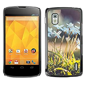 Hot Style Cell Phone PC Hard Case Cover // M00101993 flowers nature // LG Nexus 4