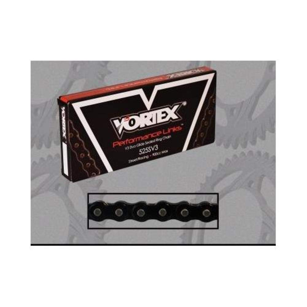 Vortex 525SV3-120 525 Pitch and 120 Links Duo Glide Chain