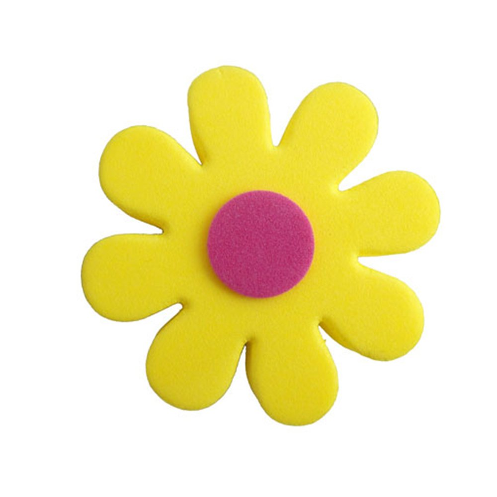Red Petals Daisy Flowers Antenna Balls Car Aerial Ball Antenna Topper Decor Ball