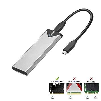 SSK - Carcasa para Disco Duro Externo SATA M.2 (USB 3.1 a M ...