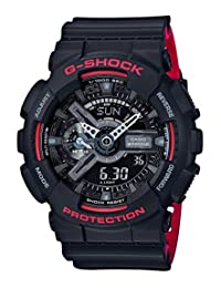 CASIO G-SHOCK Black & Red Series GA-110HR-1AJF MENS JAPAN IMPORT