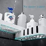 Shower Caddy 2-Pack, Plastic Space Shower Shelf