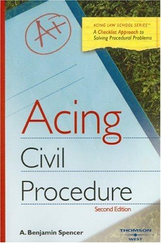 Acing Civil Procedure