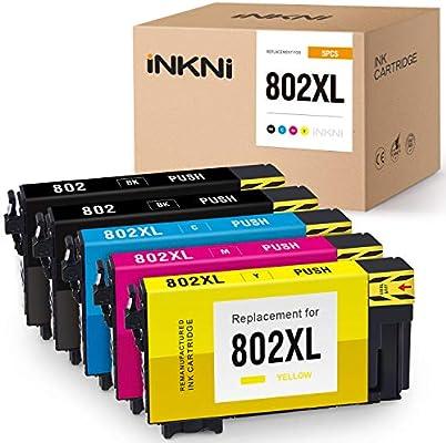 Epson 802 T802XL Ink WorkForce Pro WF-4720 WF-4730 WF-4734 WF-4740