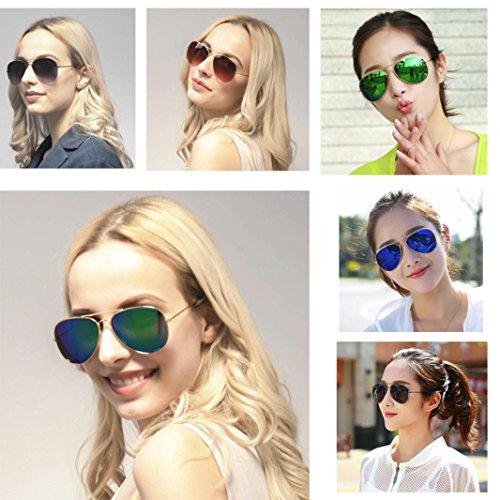 diseñador de mujeres de Nuevos Gafas calientes y Rawdah D metal hombres de sol clásico BAwqvzcp