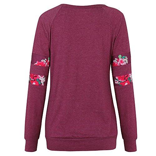 Shirt Longues Manches D pour Femmes Chemisier E3201233 Kangrunmys T xZ4T4H