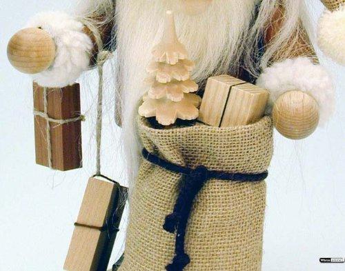 German Incense Smoker Santa Claus - 28,5 cm / 11 inch - Christian Ulbricht