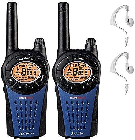 Cobra MT975 Walkie Talkie - Twin Pack + 2 HEADSETS: Amazon.es: Electrónica