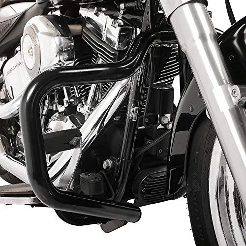 Paramotore Mustache per Harley Davidson Softail Slim 12-17 nero