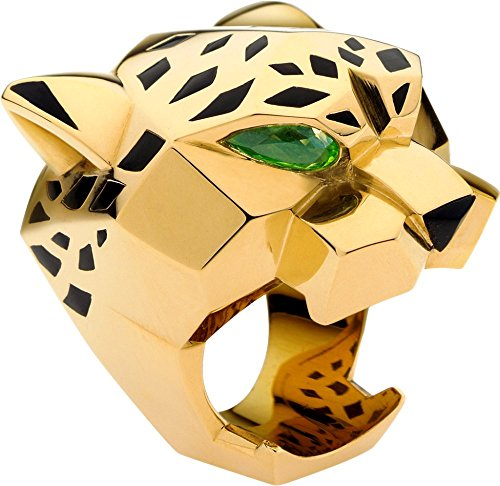 cartier-panther-pear-emerald-14k-yellow-gold-engagement-wedding-animal-unisex-ring-all-sizes